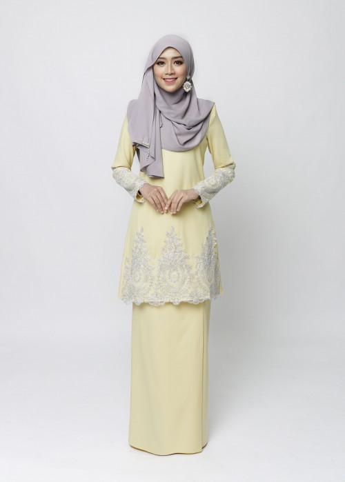 LOWELLE KURUNG PAHANG - YELLOW MELLOW