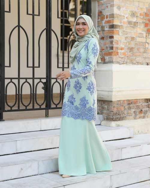ESRIYAA KURUNG - MINT GREEN