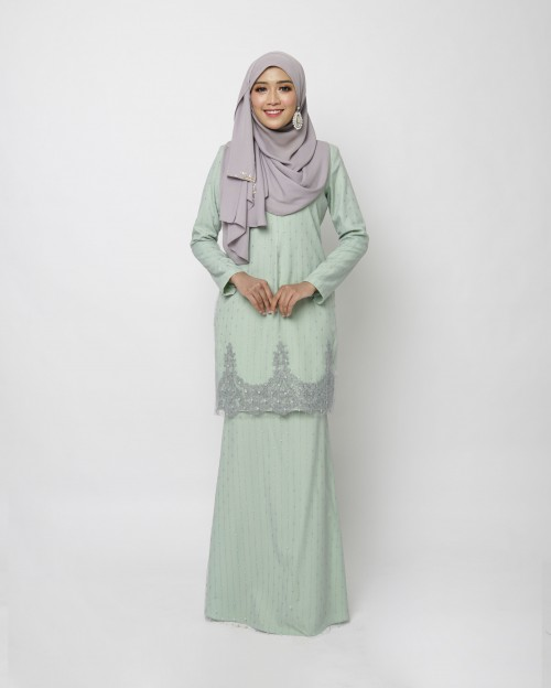 DEENARA KURUNG - DUSTY GREEN