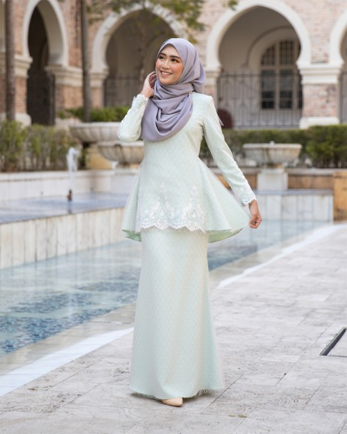 REIYANA KURUNG - MINT GREEN