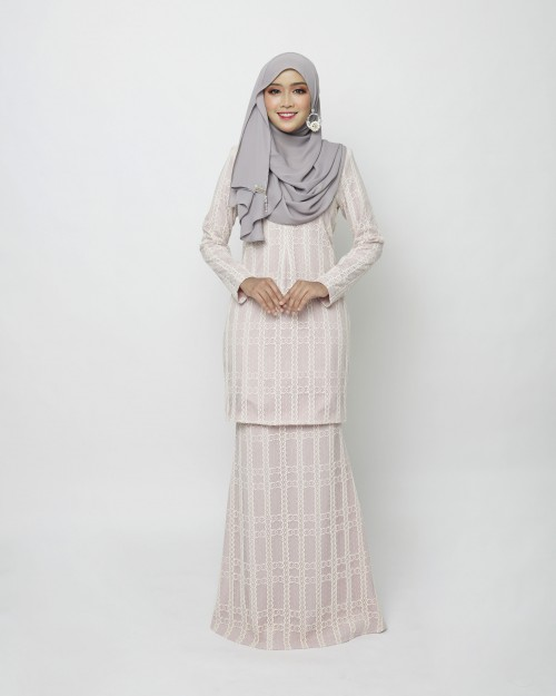 RINELLE CLASSIC KURUNG - DUSTY PINK