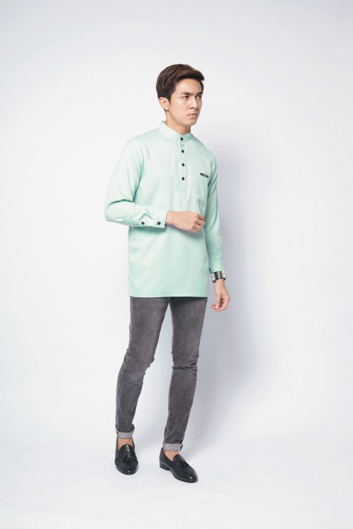 REMICO BUTTON - MINT GREEN