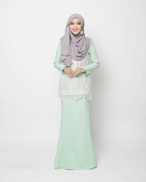 ELISA KURUNG - MINT GREEN