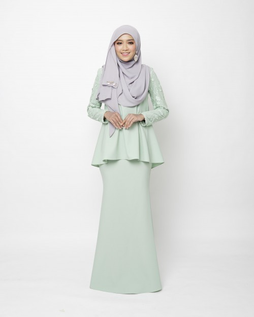 ESRIKA KURUNG - DUSTY GREEN