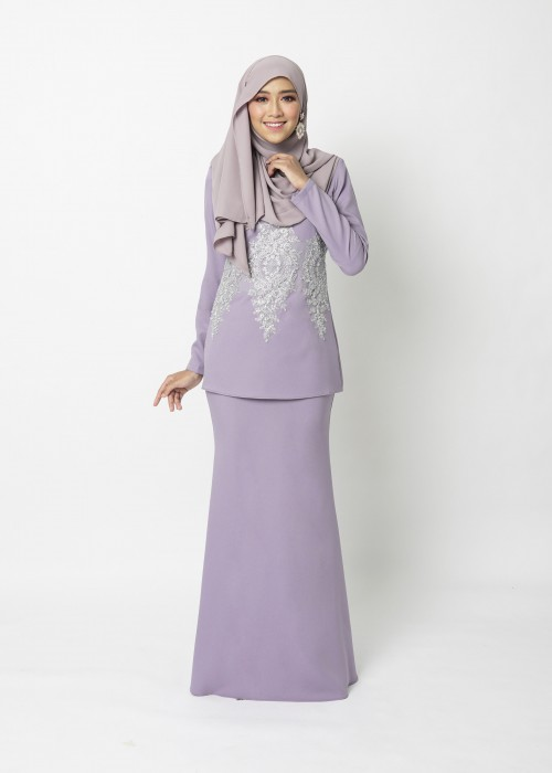 LOWELLE MINI KURUNG - LAVENDER PURPLE