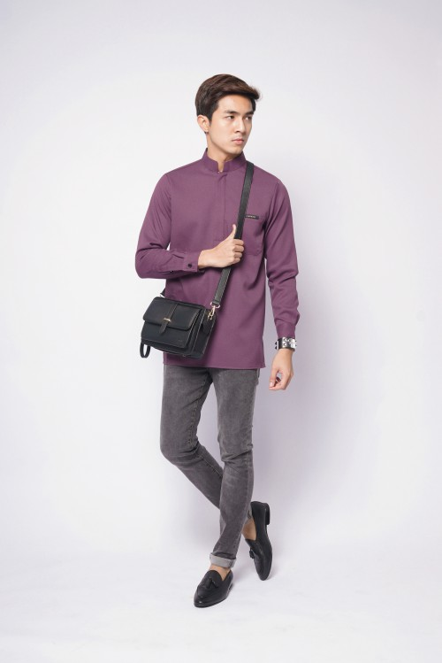 ELFMAN ZIP - DUSKY PURPLE