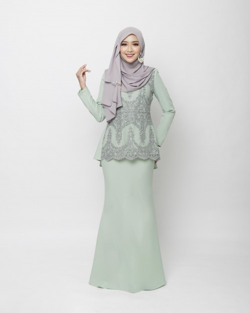 RENIKAA KURUNG - DUSTY GREEN