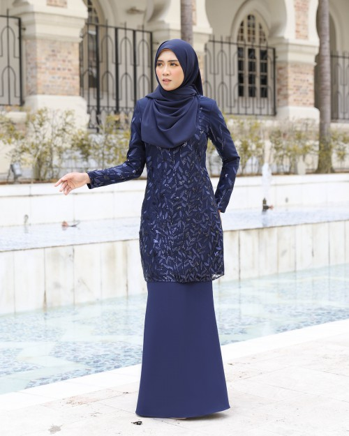 AIREENA KURUNG - DEEP NAVY