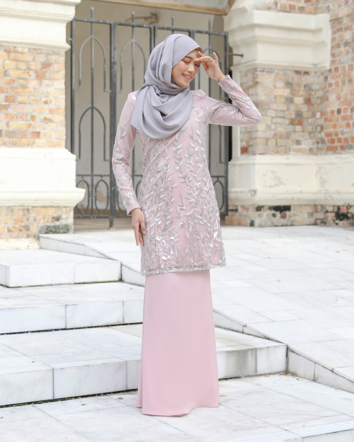 AIREENA KURUNG - DUSTY PINK