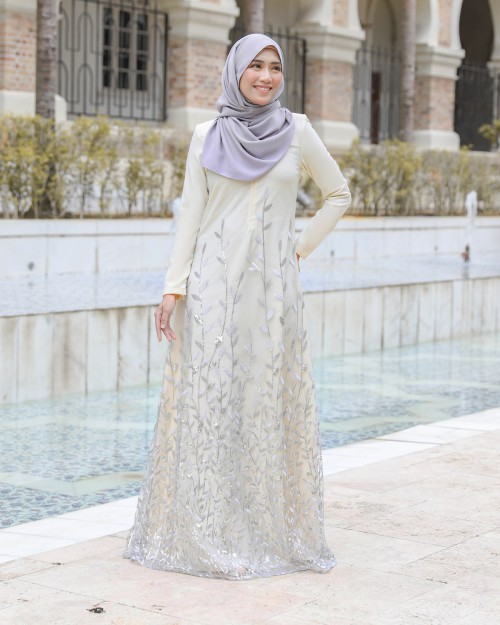AIREENA JUBAH - DUSTY YELLOW