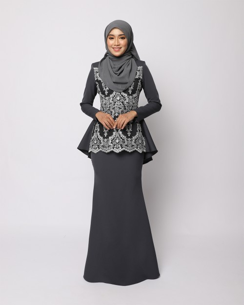 RENIKAA KURUNG 2.0 - DARK GREY