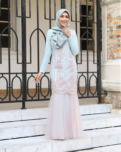 ELLYNA KURUNG - PALE TURQUOISE