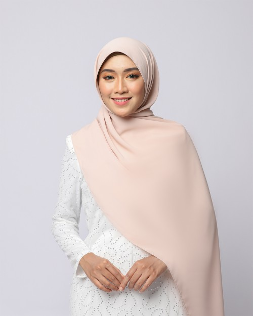 LABELLE SHAWL - NUDE