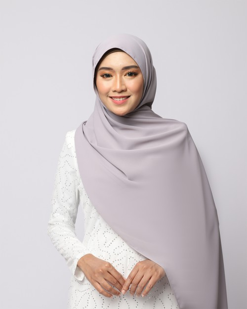 LABELLE SHAWL - SILVER GREY