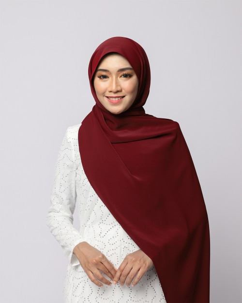 LABELLE SHAWL - MAROON