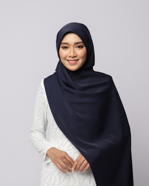 LABELLE SHAWL - DEEP NAVY