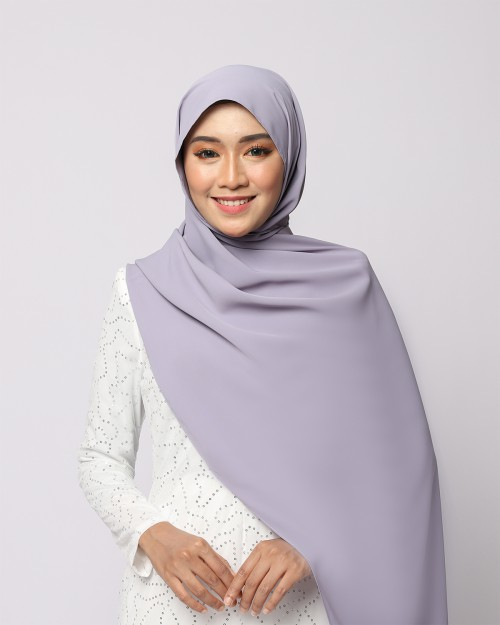 LABELLE SHAWL - LAVENDER GREY