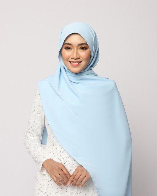 LABELLE SHAWL - BABY BLUE