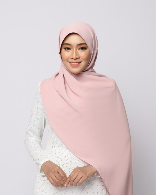 LABELLE SHAWL - ROSE PINK