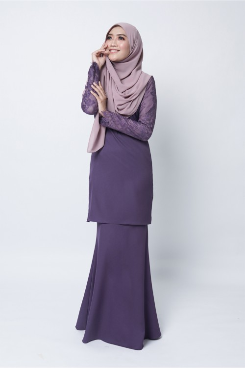 LIRAANA KURUNG - DARK PURPLE