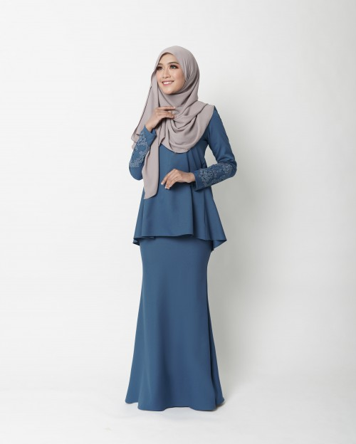 RIKELLE KURUNG - MIDNIGHT BLUE