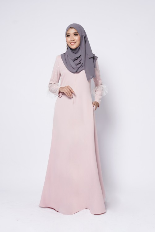 CHANELLE JUBAH - DUSTY PINK