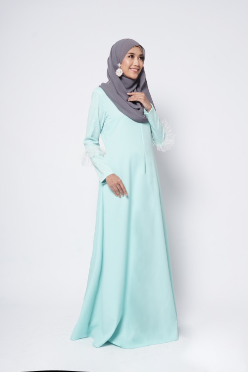 CHANELLE JUBAH - TIFFANY BLUE