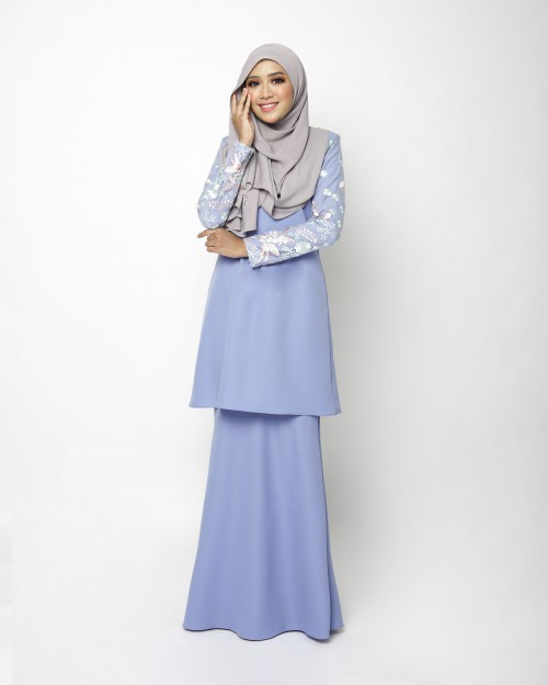 ELEENA KURUNG - PARIS BLUE