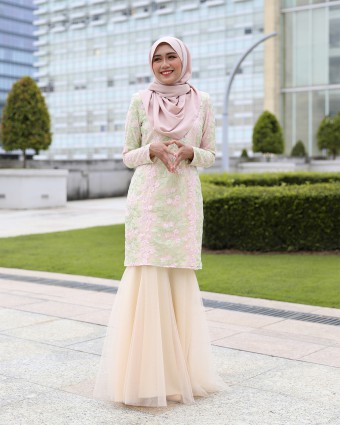 ESTILA KURUNG - SOFT YELLOW