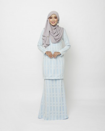 RINELLE CLASSIC KURUNG - BABY BLUE