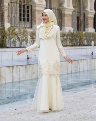 MISYANA KURUNG - SOFT YELLOW