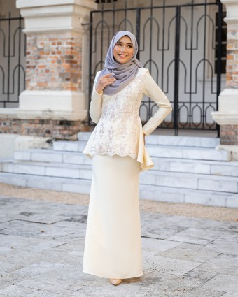 RENIKAA KURUNG 2.0 - SOFT YELLOW